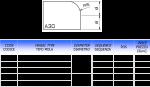 Meule CNC profil A-20