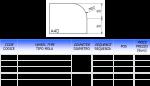 Meule CNC profil A-40
