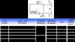 Meule CNC profil AR 20