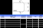 Meule CNC profil AR40