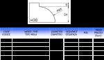 Meule CNC profil H30