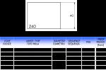Meule CNC profil Z40