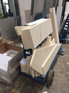 chariot marbre
