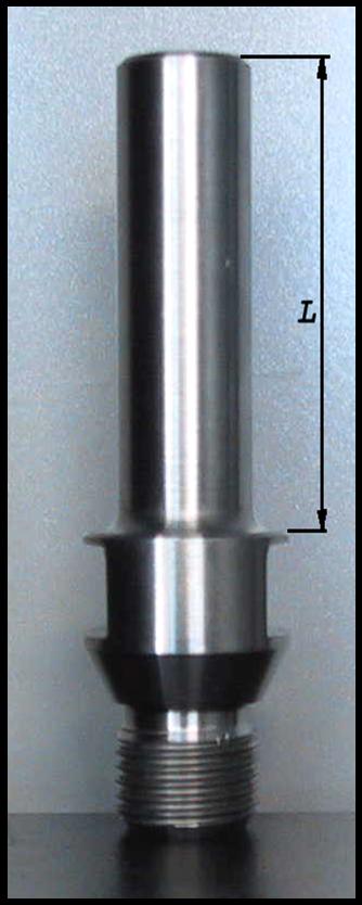 Monture pour pastille diamantée à visser