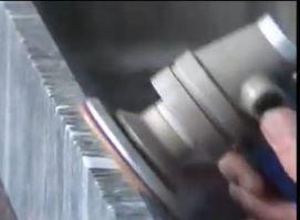 machine pneumatique granit