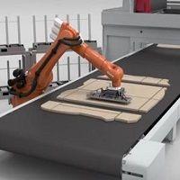 robot dechargement