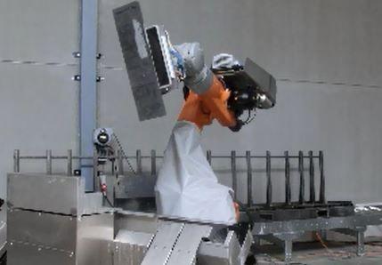 robot avec debiteuse