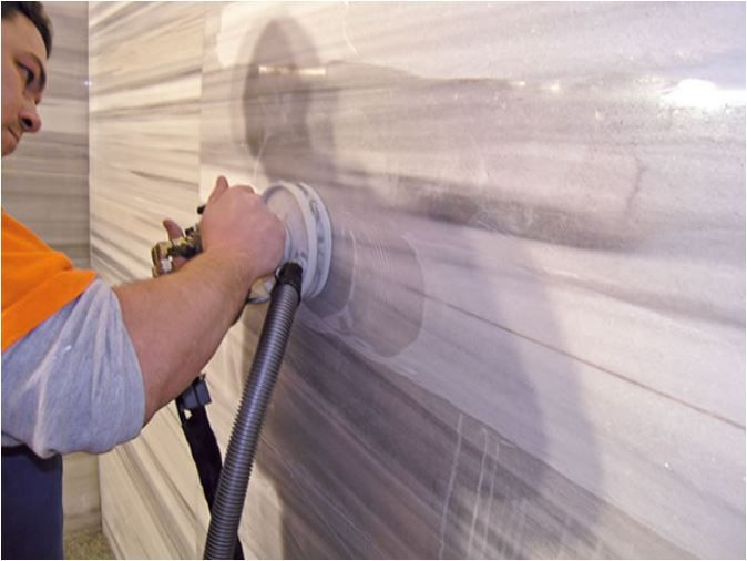 polir vertical marbre