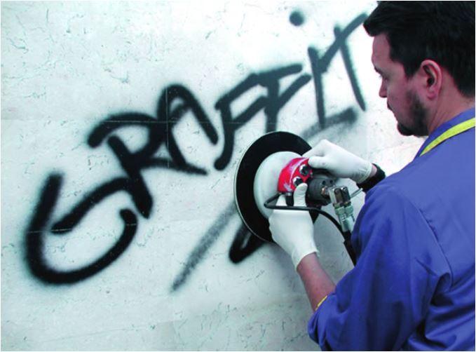meuleuse hydraulique anti grafiti